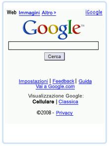 Google per cellulari